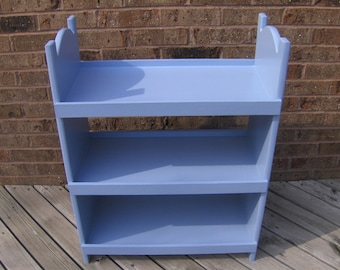Triple Doll bunk bed for american girl 18 inch dolls.   Periwinkle
