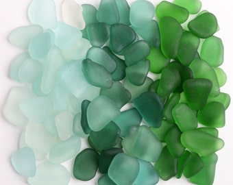 Genuine Sea Glass Mix / 90 pieces / Italian Beach Glass for Jewelry and Mosaic / Natural Sea Glass Supplies for Beach Wedding (sg-0090-1)