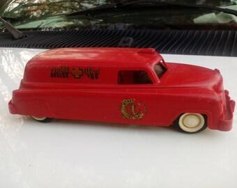 Toy Ambulace Car Truck Vintage 1959