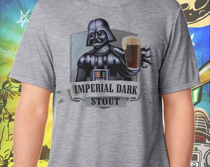 Star Wars / Darth Vader / Imperial Dark Stout / Men's Gray Performance T-Shirt