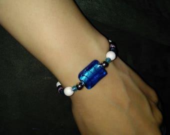 Deep sea diving self tying bracelet