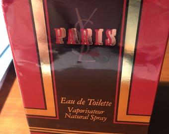Paris VINTAGE  by Yves Saint Laurent eau de toilette 75 ml - 2.5 fl.oz. always sealed