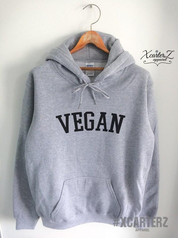 Vegan Sweatshirt - Vegan for Life - Vegan Sweatshirt - Vegan Hoodie - Item 2844 pnqTl54oh
