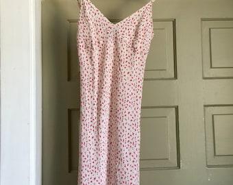 90's express floral mini dress