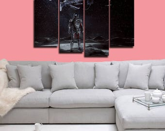 Mass Effect Andromeda Poster Mass Effect Canvas Print Wall Decor Wall Art Large Print Multi Panel Home Decoration Birthday gift Canvas art