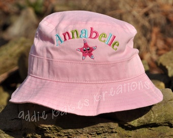 Personalized Sun Hat for Girls - Baby Sun Hat - Toddler Sun Hat - Adult Sun Hat - Sun Hat for Kids - Sun Hats - Beach Hat - Any Design