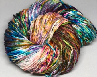 flagrant mayhem - Hand Dyed Yarn - Wonderful Worsted - 100% Superwash Merino - {flagrant mayhem}