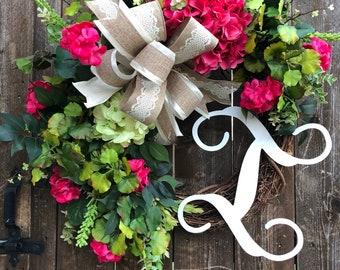 Grapevine Wreath, Grapevine, Floral Wreath, Natural Wreath, Door decor
