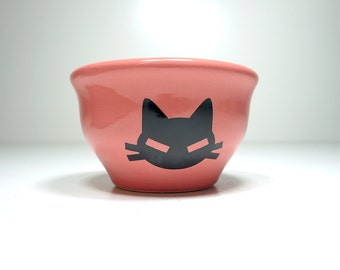 wee bowl kitty cabeza  - Made to Order / Pick Your Colour