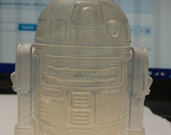 the cleanest little droid ever - r2d2 soap