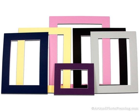 diy using paint plain from white frames picture chalk matted mat ombre inexpensive and amazon