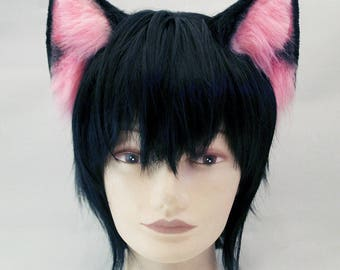 Neko ears + tail cosplay cat halloween costume