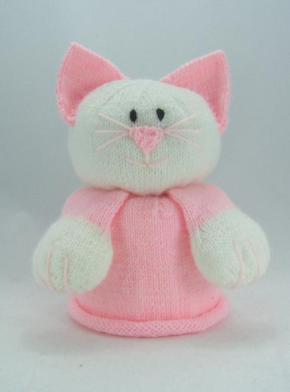 KNITTING PATTERN Bog Mog Cat Toilet Roll Cover Knitting