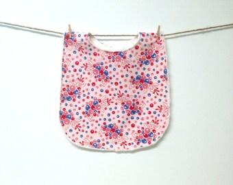 Baby Bib - Toddler Bib - Pink Bubbles