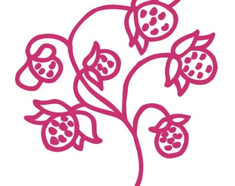 Strawberries Cut File .SVG .DXF .PNG