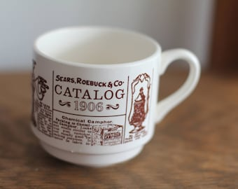Vintage Sears, Roebuck & Co Catalog 1906 Coffee Mug