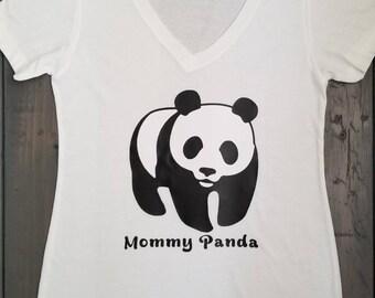Mommy Panda Shirt