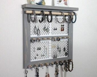 Handmade Jewelry Organizers Home Decor by WoodenInnovations