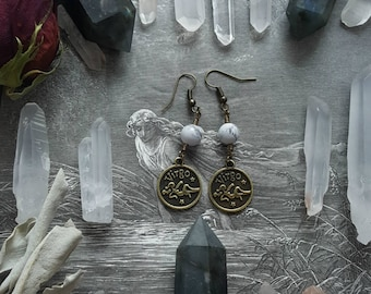 Heavenly Maiden Virgo Earrings
