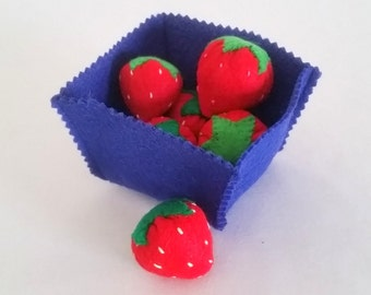 6 Strawberries and a Carton