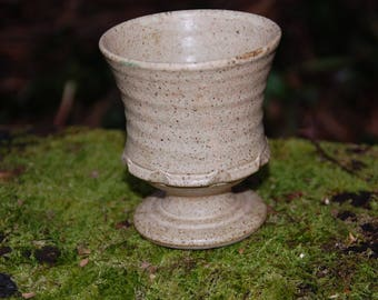 Stoneware Chalice / Goblet - Pagan - Wicca - Ritual - Witchcraft - Solstice