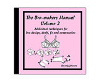 The Bra Maker's Manual Volume 2 on CD