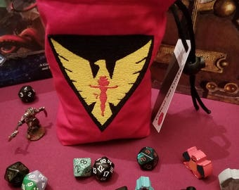 Dark Phoenix Dice bag