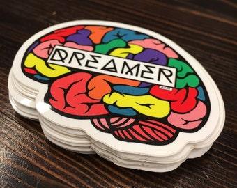 Dreamer Brian Vinyl  Stickers (Pack Of 2)