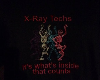 Glow in the X-Ray shirt