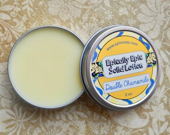 Double Chamomile Many Purpose Solid Lotion - Limited Edition Spring Scent