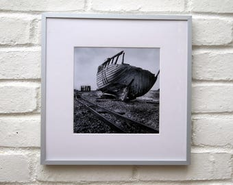 Original Framed Black and White Photograph
