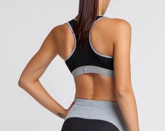 Sports Bra, Women Crop Top, Yoga Bra Top, Plus Size Workout, Women Activewear, Women Bra, Gym Clothing, Oversized Bra, Women Sportwear, Bra