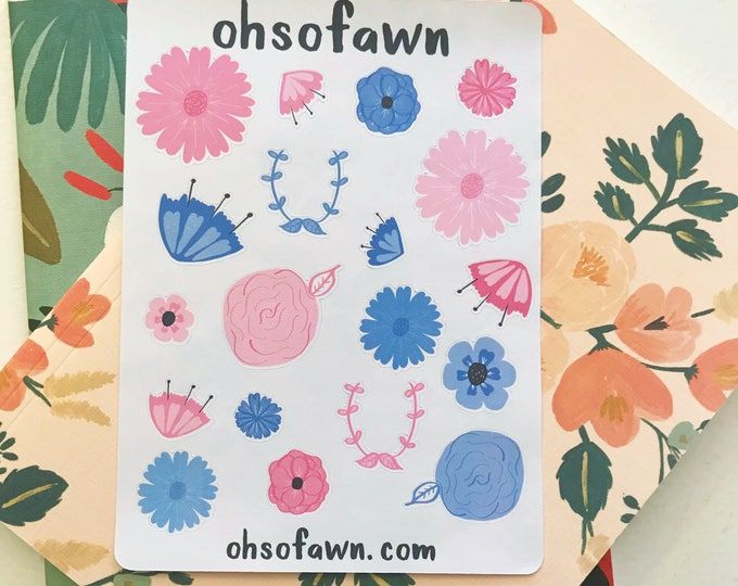 Floral Pop Stickers