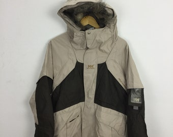 Vintage Helly Hansen Womens Jacket Outdoors Size M Sailing Gear Nautica