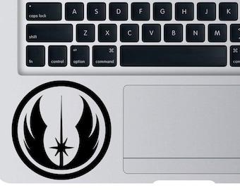 Star Wars Jedi Order Decal For Apple Macbook Laptop SW Darth Vader Luke Skywalker Alliance Yoda Empire Sticker