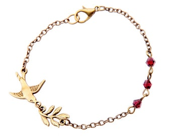 Swallow love romantic cute Bracelet jewelry