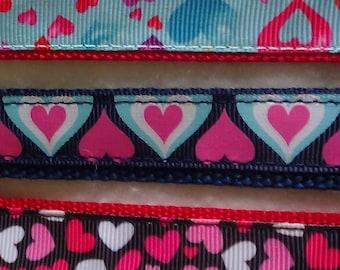 Medium Valentine's Day Dog Collars