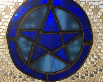 Five Pointed Star suncatcher