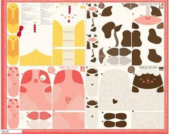 Farm Fun Fabric Panel by Stacy Iest Hsu for Moda
