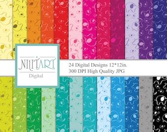 Elephant Digital,Digital Paper Pack, Digital Paper, Scrapbook, Elephant Background,spring scrapbook DP005