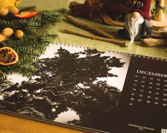 Naturmacht Calendar - Black and White Nature Photography, 2016
