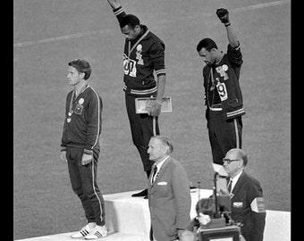 """Mexico City Olympics 1968 - """"Black Power"""" 11x14"""