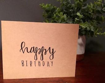 "greeting card: ""happy birthday"""