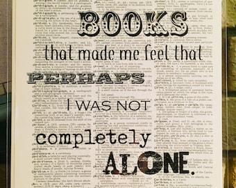It Was Books... Print