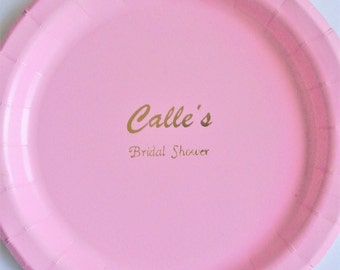 Plates for baby/bridal  shower   -set of 10