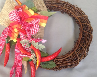 Red Hot Chili PeppersRed Chilis-Cinco de Mayo- Chili Peppers-Rustic Wedding Decor-Mexico-Peppers-Red Hots-Peppers
