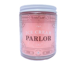 Ice Cream Parlor Candle With Free Pin Inside