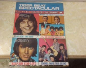 david cassidy tiger beat spectacular magazine 1971 bobby sherman,osmond