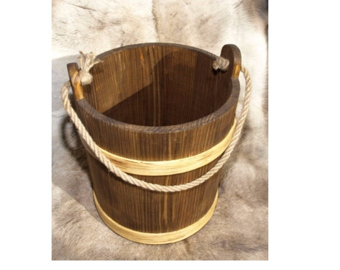 5 Litre Bucket With Rope Handle