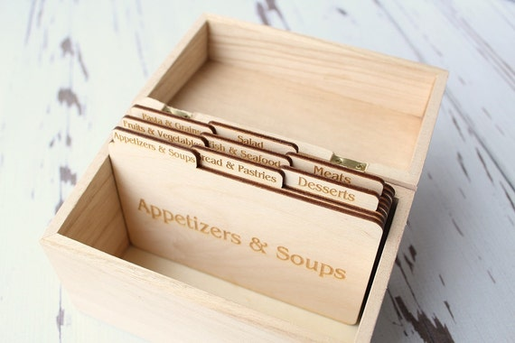 Recipe card dividers recipe box dividers thecheapjerseys Images